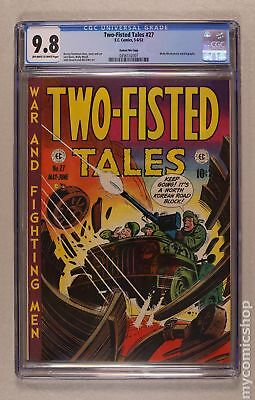 Two Fisted Tales (EC) #27 1952 CGC 9.8 0356132007