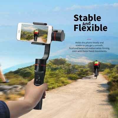 AU 3-Axis Handheld Mobile Phone Gimbal Stabilizer for Smart Phone Action Camera