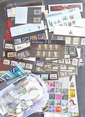 Great Value Bundle No 4 of Stamps inc 35 GB mint presentation packs ##OUN70BS