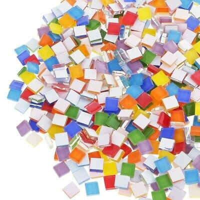 (about 110pcs)Mixed Mosaic Tiles 1cm X 1cm DIY Craft Supply Accessories