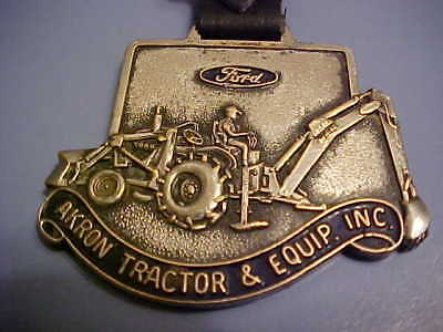 VINTAGE Ford Watch FOB w/original strap - Akron Tractor & Equipment