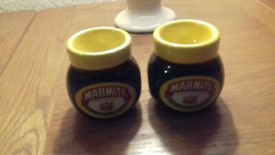 Two marmite egg cups excellent condition