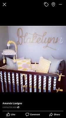 Brand New Very Solid Wooden Baby Crib