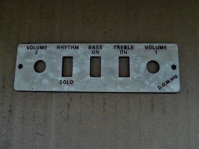 HOFNER HCT500/1  BEATLE Violin Bass Pearloid CONTROL PLATE fits HCT500/2 also
