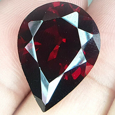 19.79 Cts Largest Ever Seen Collector's Pride Wine Red Natural Rhodolite Garnet