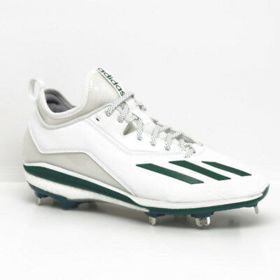 quality design 7e5a5 7fc02 Nouveau Adidas Energy Boost Icon 2 Baseball Métal Crampons Chaussures  Blanches