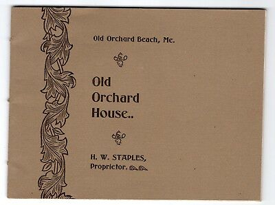 1800's Old Orchard House Hotel & Views Old Orchard Beach, Maine