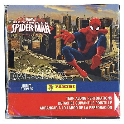 Panini Marvel Ultimate Spider-Man Album Sticker Box