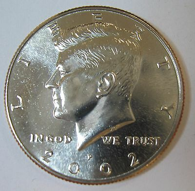 2002-P John F Kennedy Clad Half Dollar Choice BU Condition From Mint Set  DUTCH