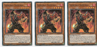 3X Shiranui Samurai	-	HISU-EN049	-SUPER-	Hidden Summoners YuGiOh!