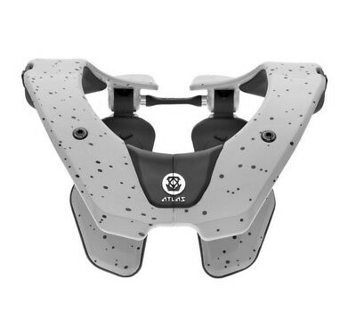 Atlas Air Neck Brace Gray Speck MD