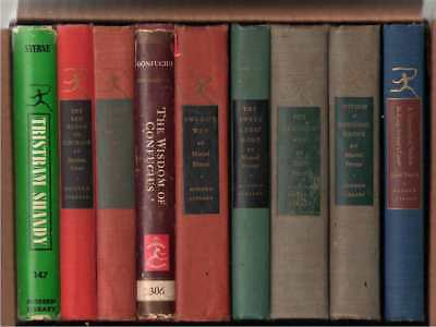Modern Library Lot of 9 Books - Lot A