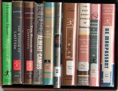 Modern Library Lot of 10 Books - Lot D