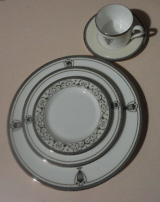 Lenox Westchester Legacy 5 Piece Place Setting Dinner Salad Bread Cup Scaucer