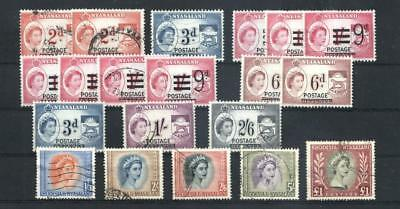 (955066) Royalty, Definitive Issue, Small lot, Rhodesia