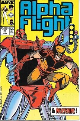 Alpha Flight Comic Book #53 Marvel Comics 1987 VERY FINE NEW UNREAD