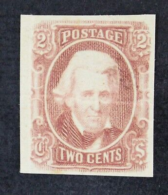 CKStamps: US Confederate States Stamps Collection Scott#8 Mint H OG Crease