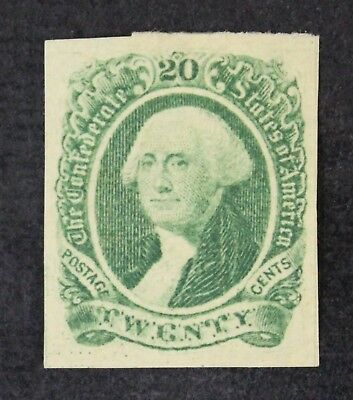 CKStamps: US Confederate States Stamps Collection Scott#13 Mint H OG Tiny Thin