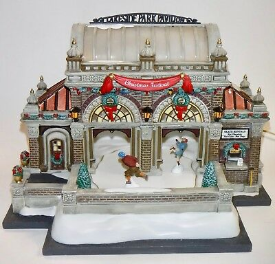 Dept 56 Christmas In City- Christmas At Lakeside Park Pavilion- Ltd Ed Numbered
