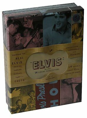 NEW/SEALED Elvis Presley Box Set includes 14 genuine reproductions