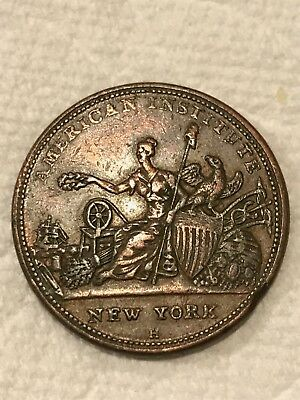 Token R&W Robinson Hard time Token 1836 Military, buttons, Naval & Sporting