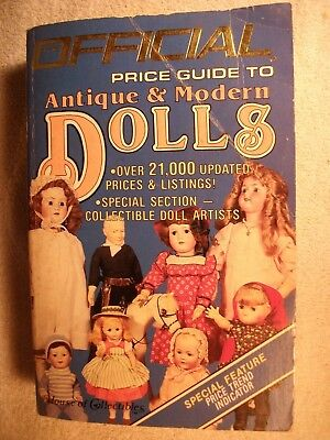 The Official Price Guide To Antique & Modern Dolls -- Third Edition 1985