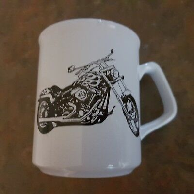 Black Sketch Motorbike Design Brand NEW Ceramic Coffee Mug - Must L@@K !!