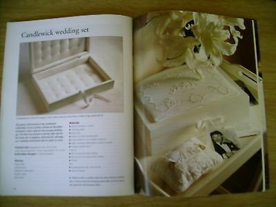 BH&G Heirloom Embroidery~Candlewick~Cross Stitch~Lace~Organza~Christening~Wool