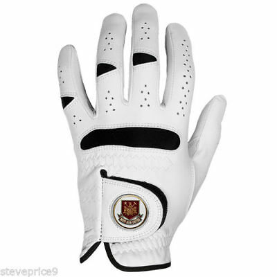 West Ham United Fc Golf Glove And Magnetic Ball Marker. All Sizes.