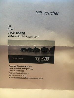 $200 TRAVEL VOUCHER (covers Flight, accommodation, etc costs)