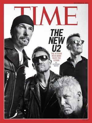 U2 Time Magazine Fridge Magnet