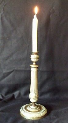 18th Century French Empire Brass Candlestick