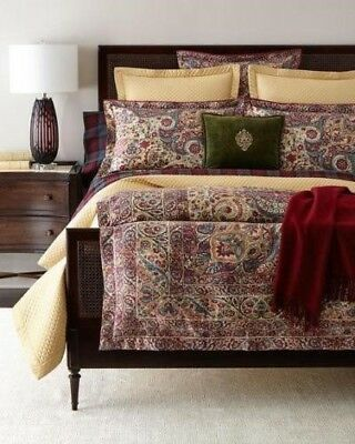BOHEMIAN MUSE NEW RALPH LAUREN ONE FULL//QUEEN COMFORTER M.S.R.P $430.00 TAG!