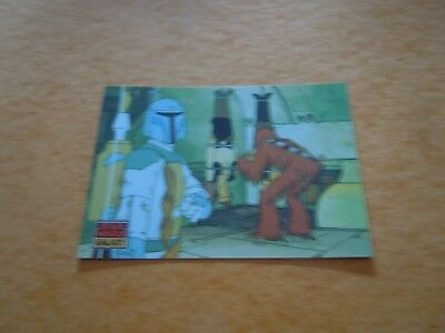 Carte Galaxy Star Wars N°020 - The Design of Star Wars - Holiday Special