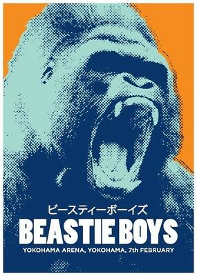 The Beastie Boys Tour Poster Fridge Magnet