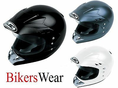 HJC CL-XS Full Face Motorcycle Helmet Black/White or Anthracite Size XS and S