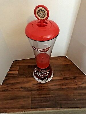 Budweiser Beer Tube Beverage Dispenser - 128 Ounces