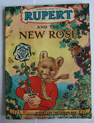 Rupert And The New Rose, Adventure Series No.9