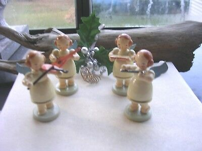 Vintage Erzgebirge Angel Musicians Heavenly Orchestra