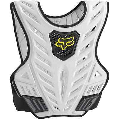 Fox Racing TITAN SPORT Subframe BLACK/SILVER Guard Chest Protector MX 06071-464