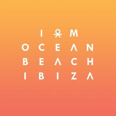 Ocean Beach Ibiza Fridge Magnet