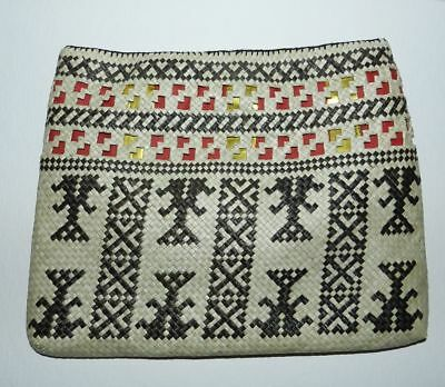 Vintage Hand Made Pouch - Tribal / Folk Art