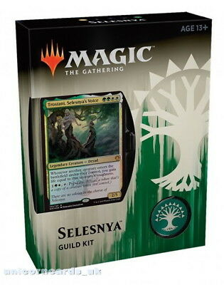 MTG - Magic: the Gathering Guilds of Ravnica Guild Kit - Selesnya :: Brand New &
