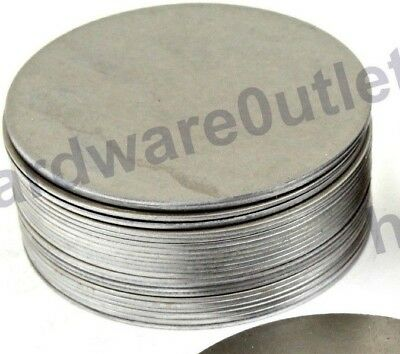 60mm Dia Mild Steel  Round BLANK DISCS Car Repair Welding Practice Patching