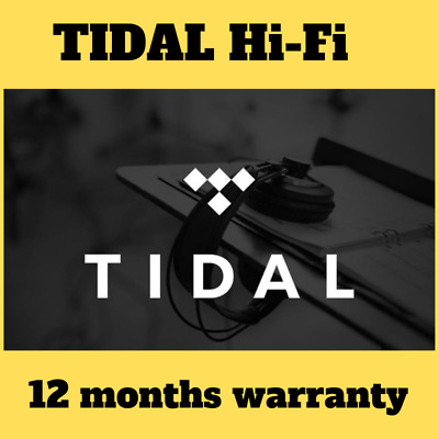 TIDAL Premium - 12 Months ⭐ DELIVERY 1 hour - 100% guaranteed⭐