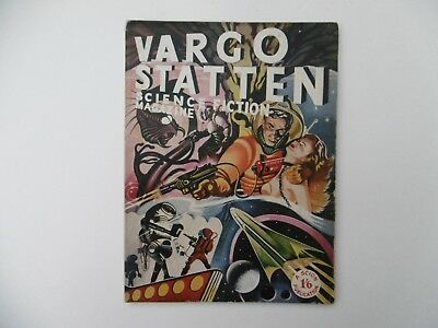 'Vargo Statten Science Fiction Magazine' Vol.1. No.1. January 1954.
