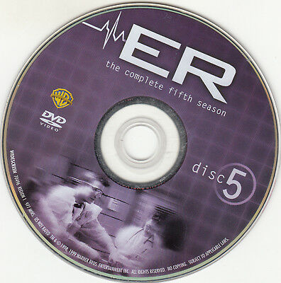 Er Fifth Season 5 Disc 5 Replacement Dvd Disc Only