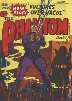Phantom (Frew) Australian #995 1991 VG Stock Image Low Grade
