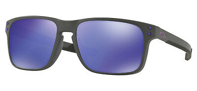 846cc26984 OAKLEY HOLBROOK MIX Polarized Sunglasses OO9384-1057 Steel Prizm ...