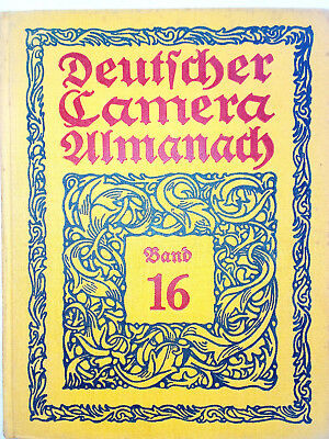 Deutscher Camera-Almanach Band 16 - 1925